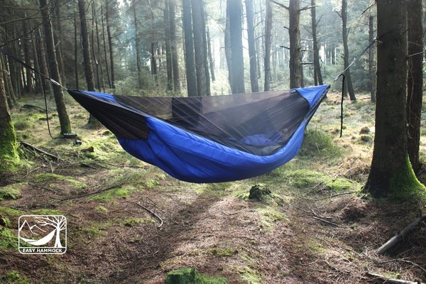WINTER HIKER insulated hammock (-5C).