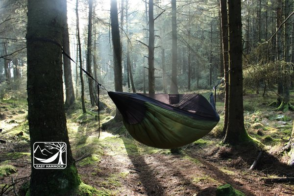 HIKER insulated hammock (+10C).
